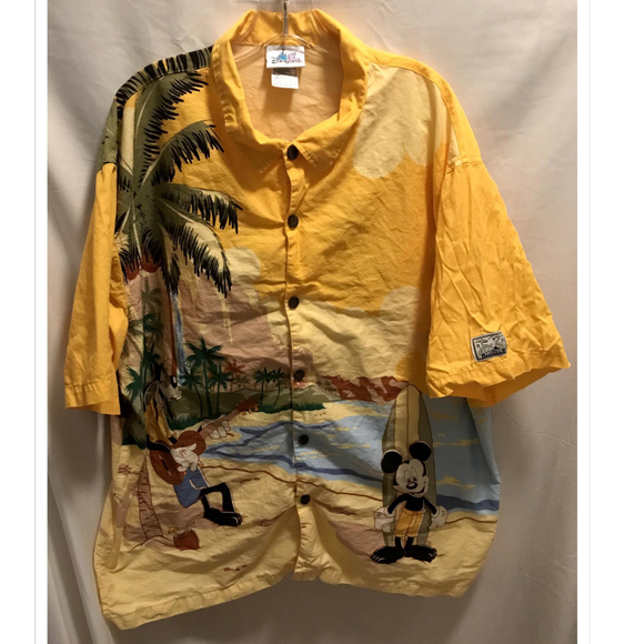 Disney Other - Mens Size XXL Disney Hawaiian Shirt